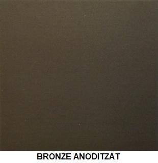BRONZE ANODITZAT green pvc green alumini