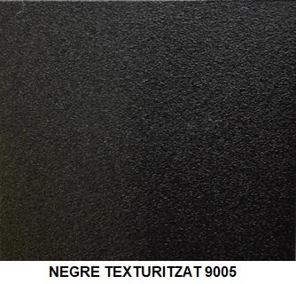 NEGRE SABLÉ 9005 green pvc green alumini