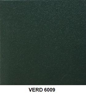 VERD 6009 green pvc green alumini